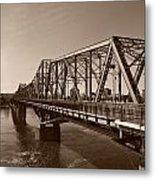 Alexandria Bridge Metal Print