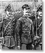 Alfred Dreyfus (1859-1935) Metal Print by Granger