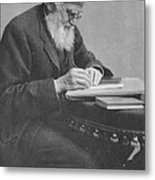 Alfred Russel Wallace Metal Print by Science Source