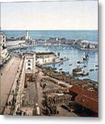 Algiers - Algeria - Harbor And Admiralty Metal Print