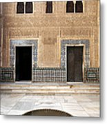 Alhambra Inner Courtyard Metal Print