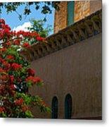 Alhambra Water Tower Windows And Door Metal Print