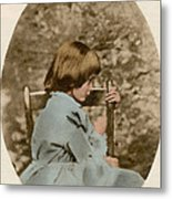 Alice Liddell, Alices Adventures Metal Print by Science Source