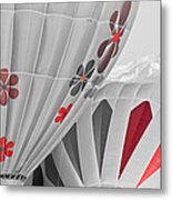 All About Red Metal Print