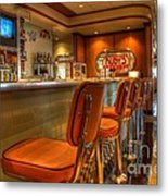 All American Diner 3 Metal Print by Bob Christopher
