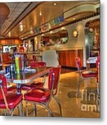 All American Diner 5 Metal Print by Bob Christopher