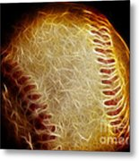 All American Pastime - The Fastball Metal Print