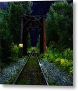 All Down The Line Metal Print