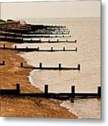 All Hallows Beach Metal Print