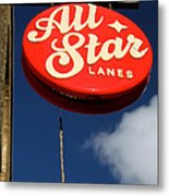 All Star Metal Print by Jez C Self