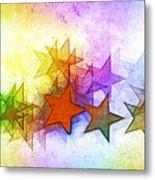 All The Stars Of The Rainbow Metal Print