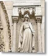 Allegory Of The Synagogue Metal Print