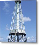 Alligator Reef Lighthouse Metal Print