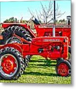Allis-Chalmers Tractors Metal Print