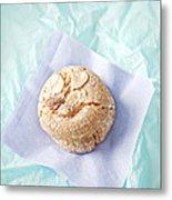 Almond Cookies Metal Print