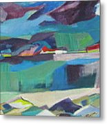 Almost Abstract Painting Metal Print