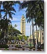 Aloha Tower II Metal Print