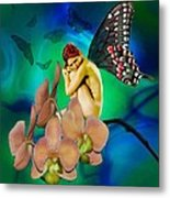 Alone I Wait Metal Print by Diana Shively