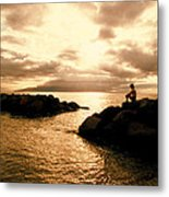 Alone With Your Thoughts Metal Print