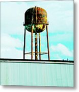 Along Highway 61 Metal Print