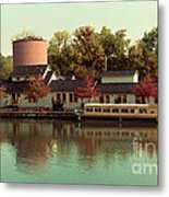Along The Erie Canal Metal Print