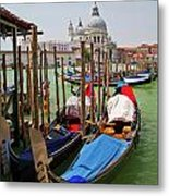 Along The Grand Canal  Metal Print