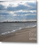 Along The Shore Metal Print by Dan Holm