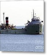 Alpena Ship Metal Print