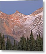 Alpenglow San Juan Mountains Metal Print