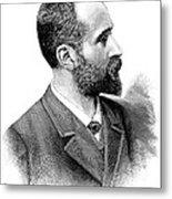 Alphonse Bertillon, French Police Officer Metal Print by