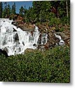 Alpine Falls Lake Tahoe II Metal Print