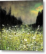 Alpine Meadow Metal Print