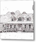 Al's House   Metal Print by Michelle Welles