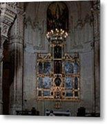 Altar Shadowed And Shining Metal Print