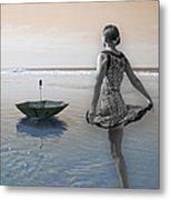 Always Looking To The Light Metal Print