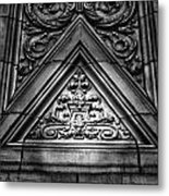 Alwyn Court Building Detail 13 Metal Print