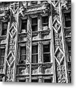 Alwyn Court Building Detail 15 Metal Print