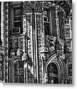 Alwyn Court Building Detail 27 Metal Print
