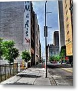 Am And As Downtown Buffalo Vert Metal Print