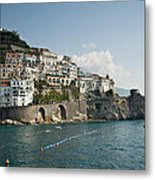 Amalfi Point Metal Print by Jim Chamberlain