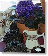 Amazing Still Life Scenes At Ron's In Grover Beach Ca Metal Print