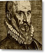 Ambroise Paré, French Surgeon Metal Print by Science Source