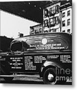 Ambulance, Late 1930s, Nyc Metal Print