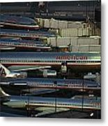 American Airlines Passenger Jets Metal Print