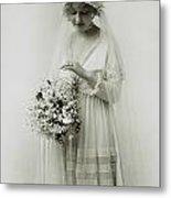 American Bride, C1925 Metal Print