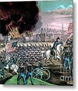American Civil War, Capture Of Atlanta Metal Print