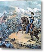 American Civil War, Storming Of Fort Metal Print