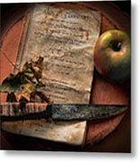 American Cookery 1790 Metal Print