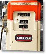 American Gas Metal Print