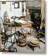 American Kitchen, 1695 Metal Print